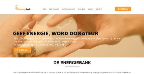 Na voedselbank nu ook energiebank