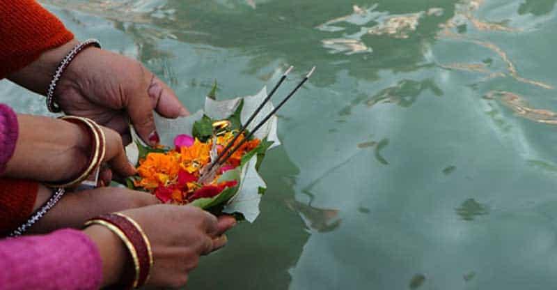 De hindoeïstische uitvaart