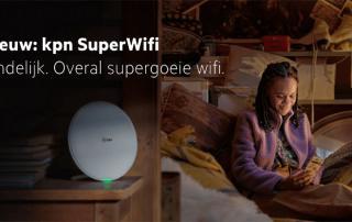 KPN introduceert SuperWifi