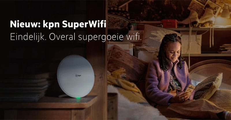 KPN introduceert SuperWifi