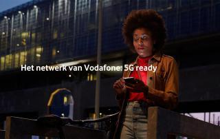 Vodafone lanceert onbeperkt mobiel internet en 5G-ready abonnement